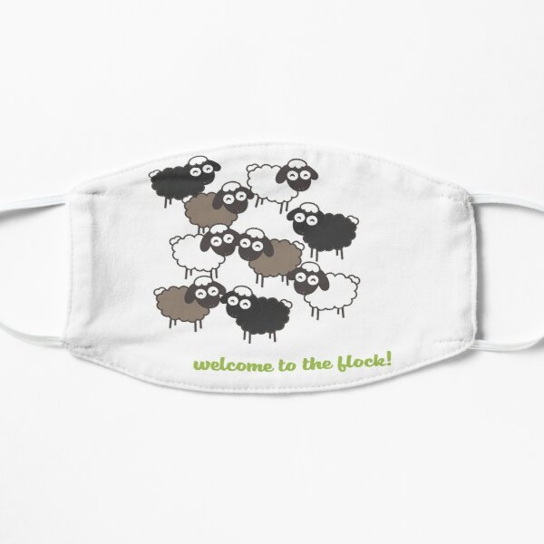 Welcome to the Flock - Baptism Gift Mask