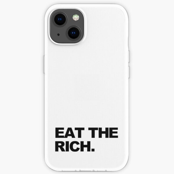 EAT THE RICH iPhone Soft Case