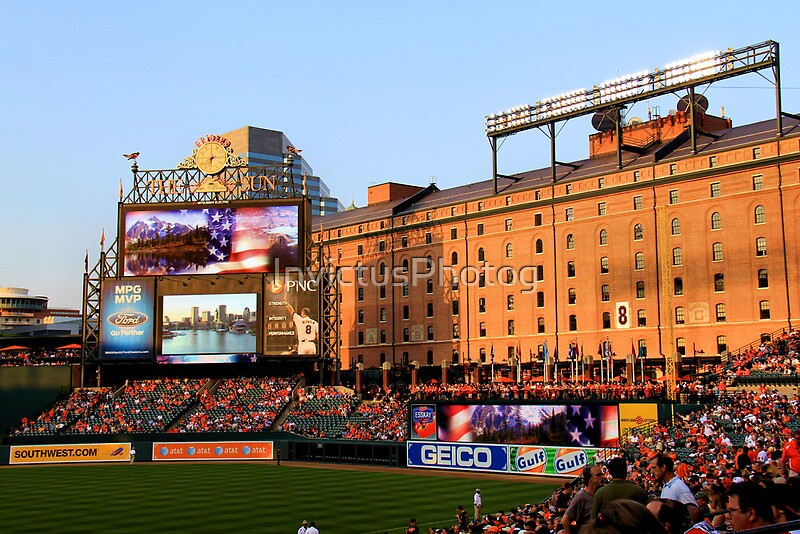 Quot Inside Camden Yards Quot Canvas Prints By Invictusphotog