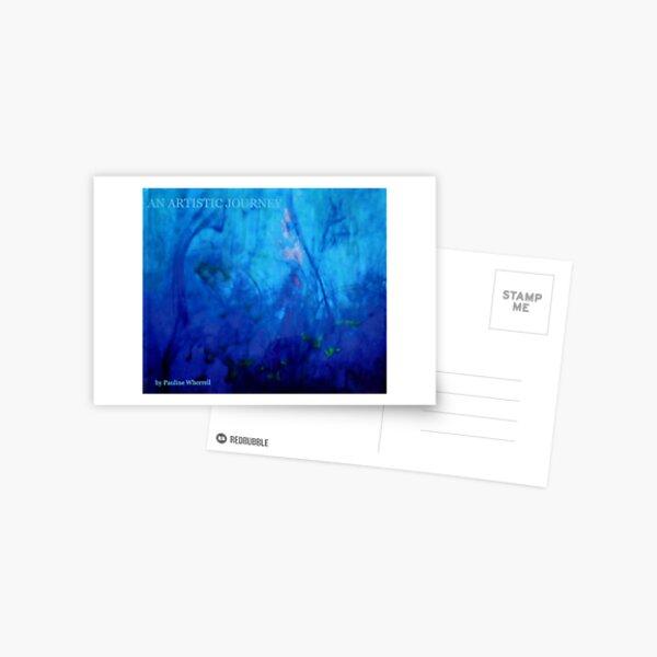 "My book ""An artistic journey"" Postcard"