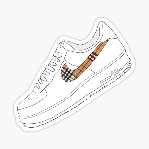 AF1 Louis V shoe Sticker