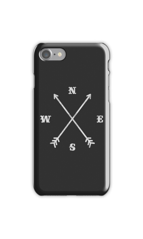 how does iphone compass work quot crossed arrows compass nsew quot iphone cases 17028