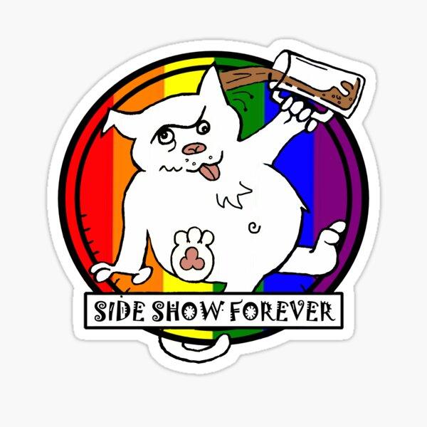 SIDE SHOW RAINBOW Sticker