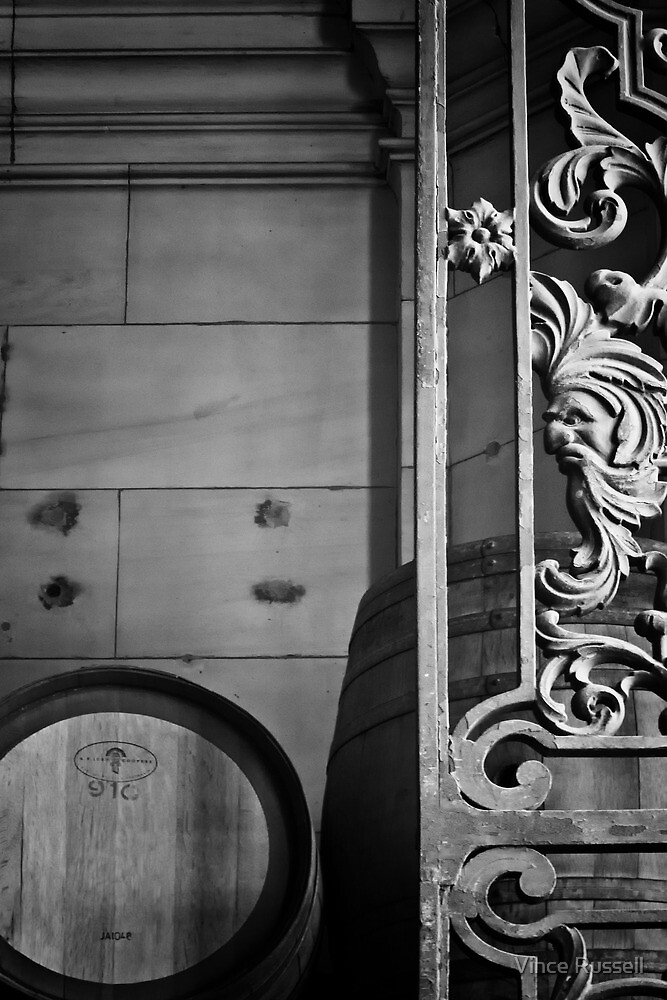 Barrels and Gates  by Vince Russell