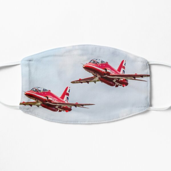 Red Arrows Formation Pair Flat Mask