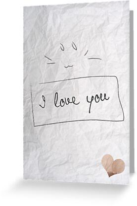 I love you :3  by DeaVanesium
