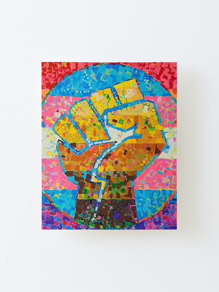 Alternate view of One World - One House Mounted Print