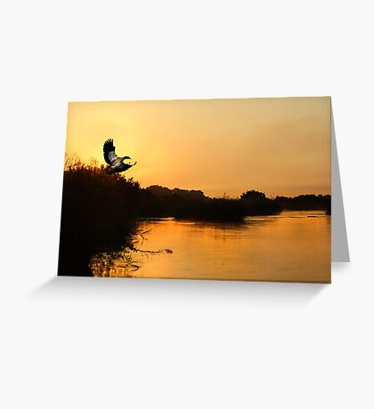 SUNSET IN SOUTH AFRICA Greeting Card