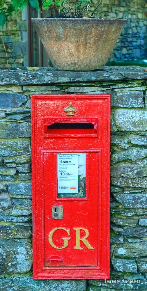 George V Postbox by Jamie  Green