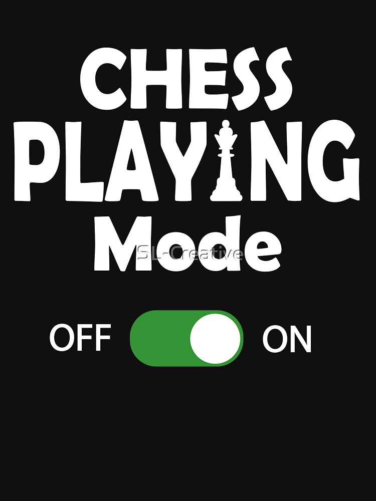 Funny Chess Player Gift by SL-Creative