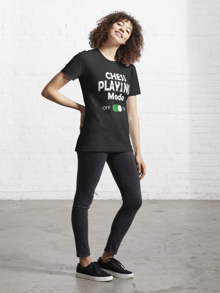 Alternate view of Funny Chess Player Gift Essential T-Shirt