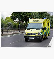 Emergency Ambulance Poster
