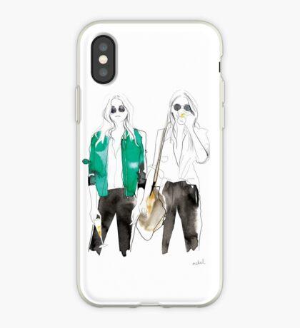 streetstyle green iPhone Case