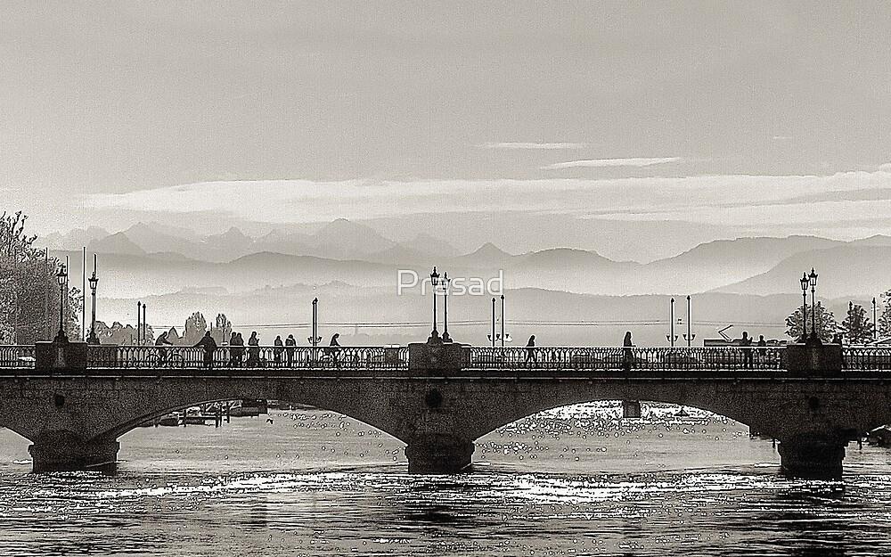 Morning Moods of Zurich by Prasad