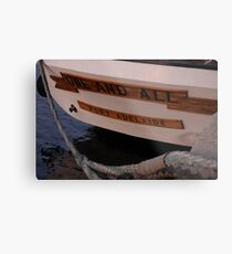 Stern One and All Metal Print