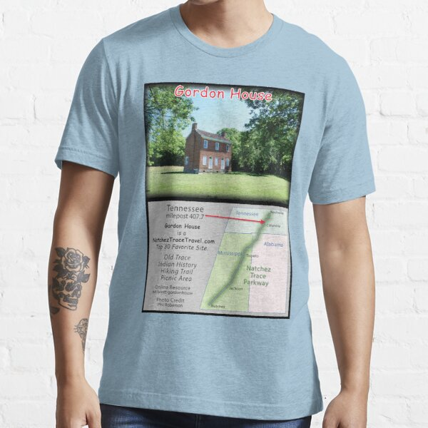 Gordon House on the Natchez Trace Parkway. Essential T-Shirt