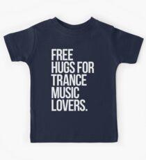 Free Hugs For Trance Lovers. Kids Tee