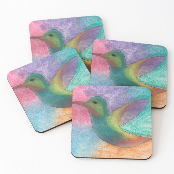 Hummingbird Coasters (Set of 4)