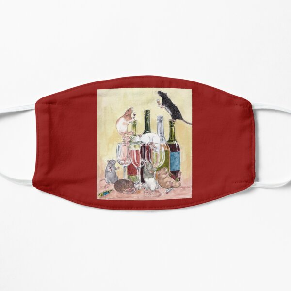 Red red wine and Rats Mask