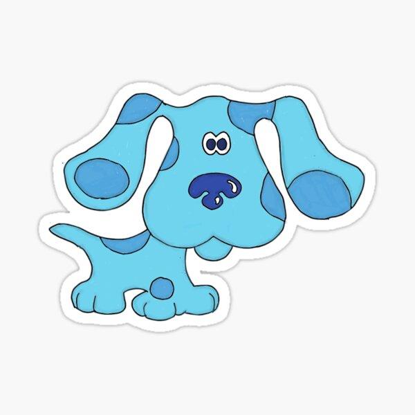 Azul Pegatina