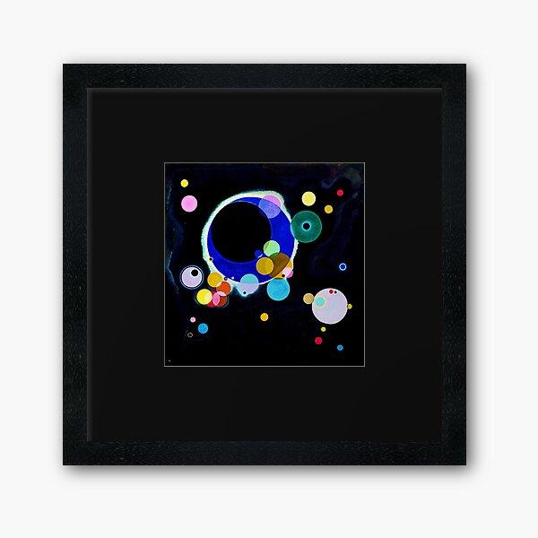 """Several Circles"" | Wassily Kandinsky Abstract Art Framed Art Print"