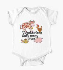 Vegetarians Save Lives Kids Clothes