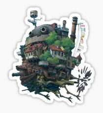 Howl's Moving Castle Sticker