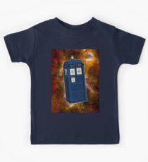 TARDIS in Space II Kids Tee