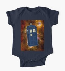 TARDIS in Space II Kids Clothes