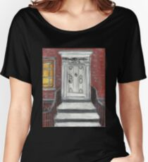 204 Washington Square,NYC Women's Relaxed Fit T-Shirt