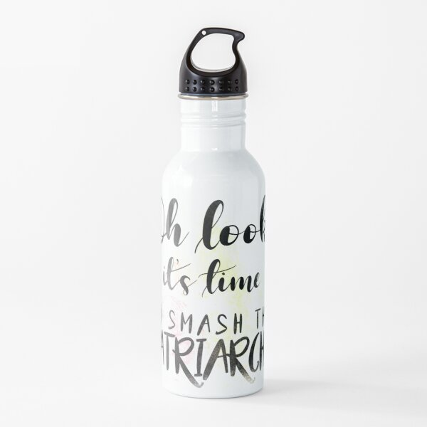 Smash the Patriarchy Quote Feminist Feminism Water Bottle