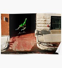 Neen Williams- Kick Flip- photo Ely Phillips Poster