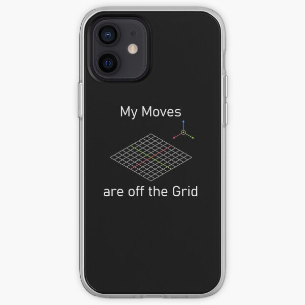 My moves are off the grid iPhone Soft Case