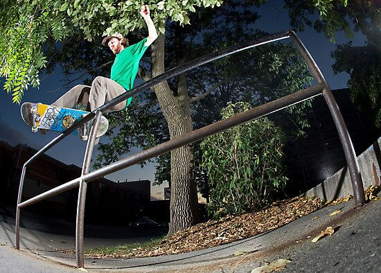 Silas Baxter-Neal - Front Feeble - Photo Sam McGuire by Reggie Destin Photo Benefit Page