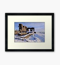 Kendal Castle in Winter Framed Print