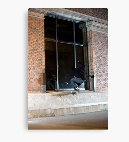 Dax Miller - Front Crook - Photo Sam McGuire Canvas Print