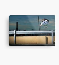 John Methvin - Heelflip - Photo Sam McGuire Metal Print