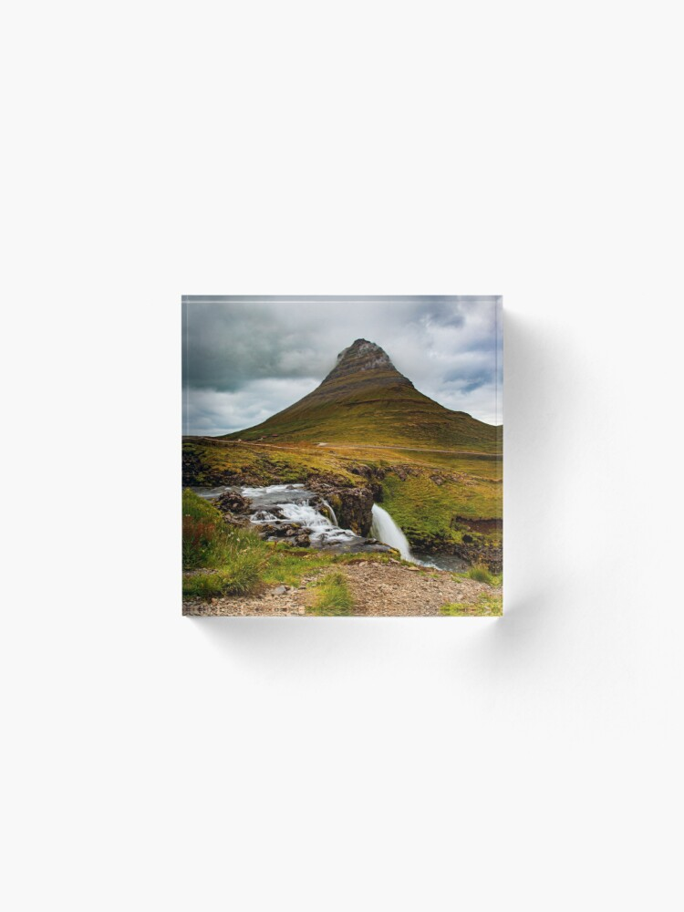 Alternate view of Kirkjufell, Iceland Acrylic Block