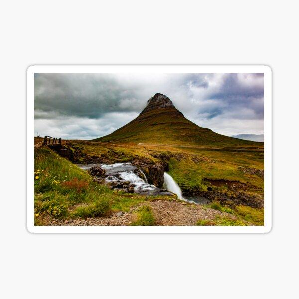 Kirkjufell, Iceland Sticker