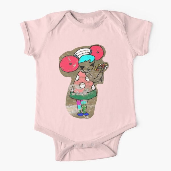 Flowers say it Best Tee Short Sleeve Baby One-Piece