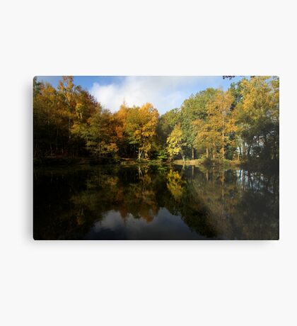 Autumn in Bucklebury Metal Print