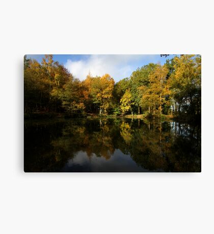 Autumn in Bucklebury Canvas Print