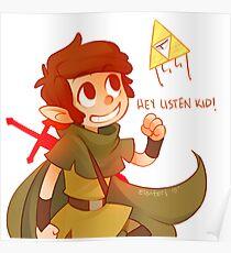 Hey Listen Kid! Poster