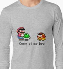 Come at me Bro (Mario) Long Sleeve T-Shirt