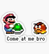 Come at me Bro (Mario) Sticker