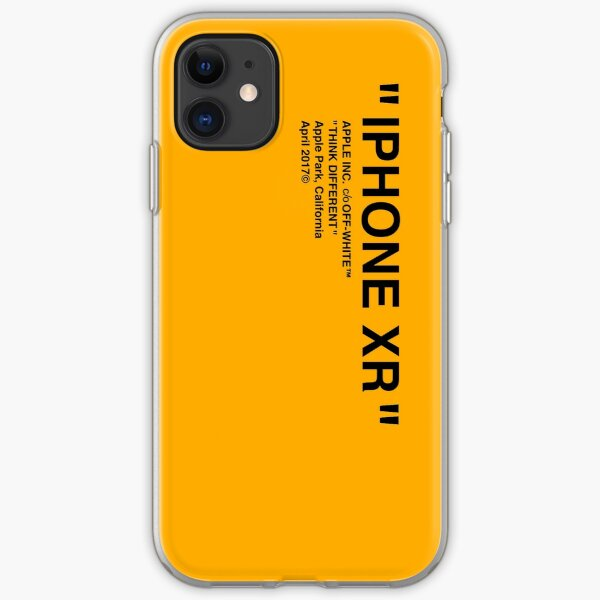 iphone xr white phone case iPhone Soft Case