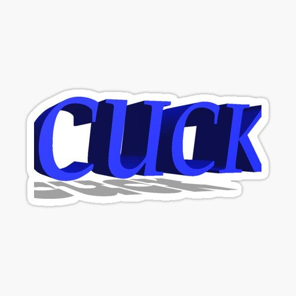 cuck Sticker