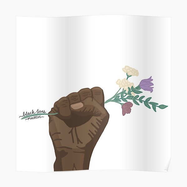 100% of proceeds donated to BLM causes. Poster