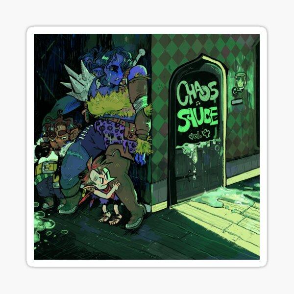 Chaos Sauce Vol 4 Album Artwork Sticker