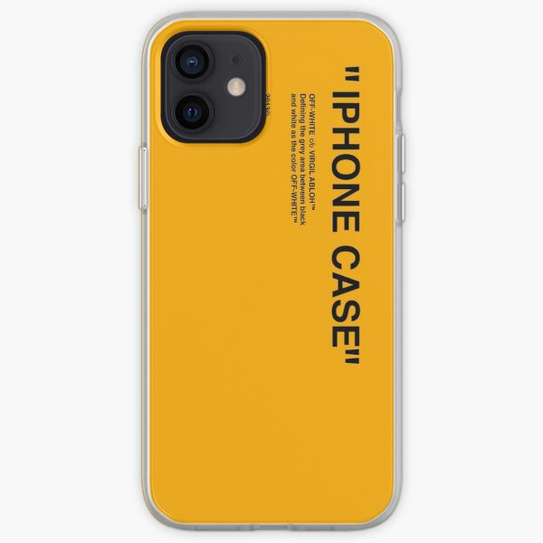 iphone yellow phone case iPhone Soft Case